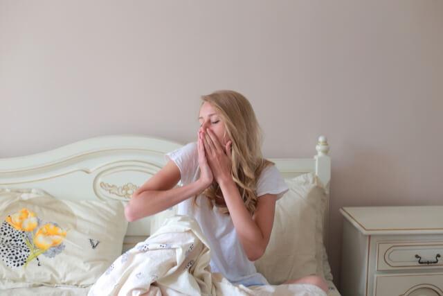 起床時の口臭