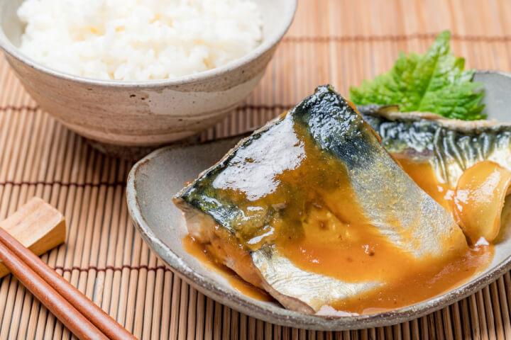 煮魚 さばの味噌煮