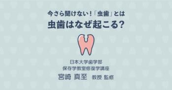 【基礎知識編】今さら聞けない虫歯とは?虫歯はなぜ起こるの?